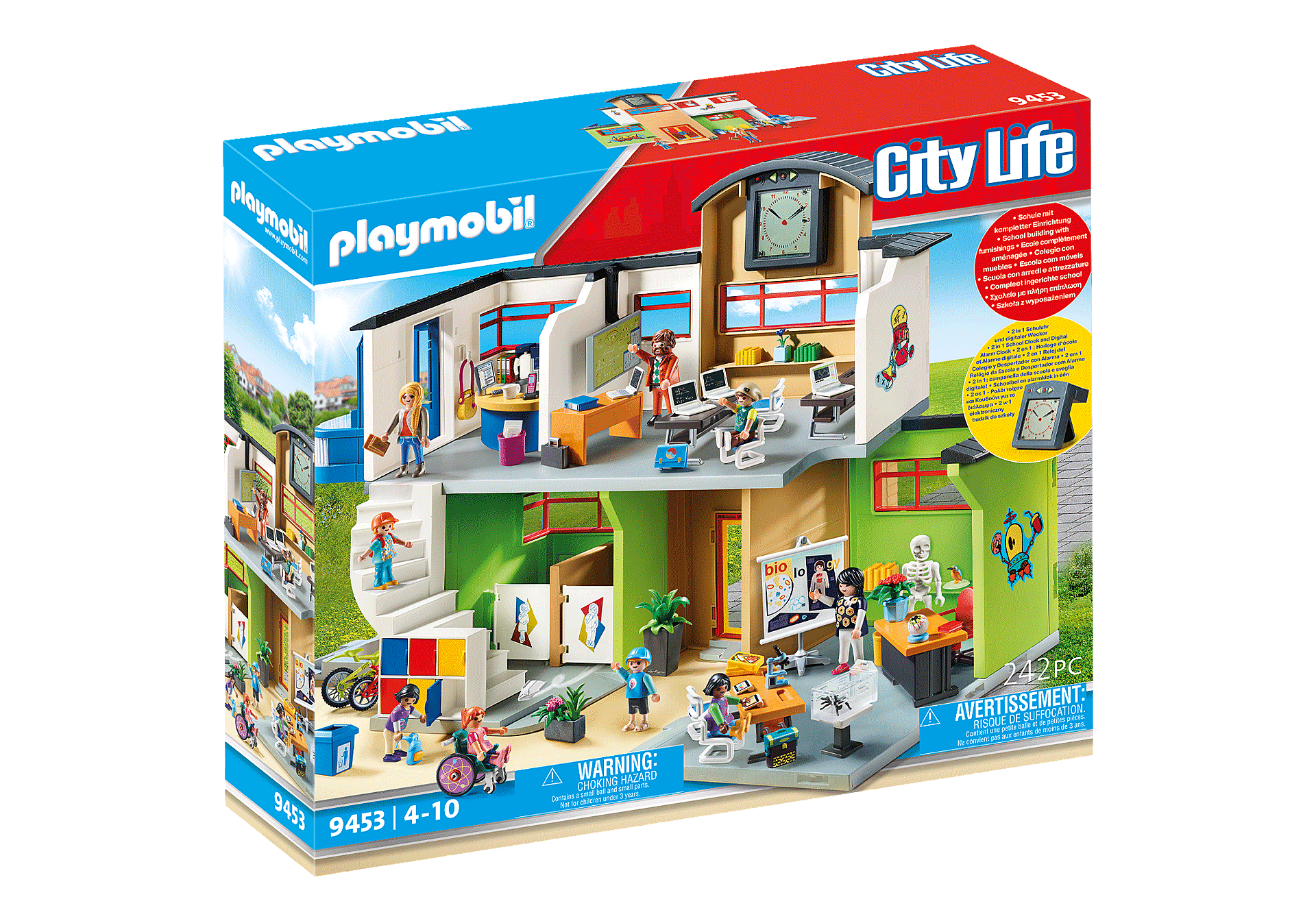 http://media.playmobil.com/i/playmobil/9453_product_box_front/Επιπλωμένο Σχολικό Κτίριο