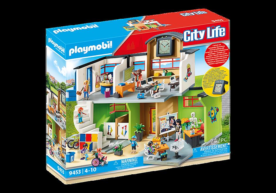 http://media.playmobil.com/i/playmobil/9453_product_box_front/Szkoła z wyposażeniem