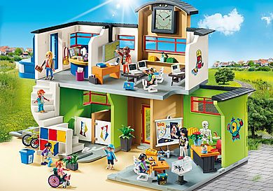 9453 Furnished School Building