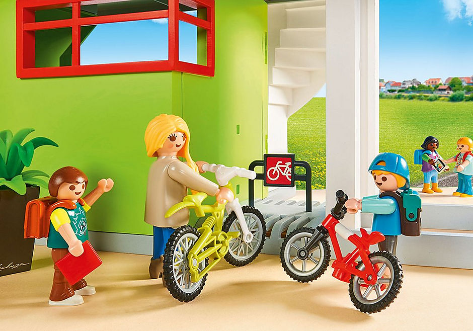 http://media.playmobil.com/i/playmobil/9453_product_extra4/Επιπλωμένο Σχολικό Κτίριο