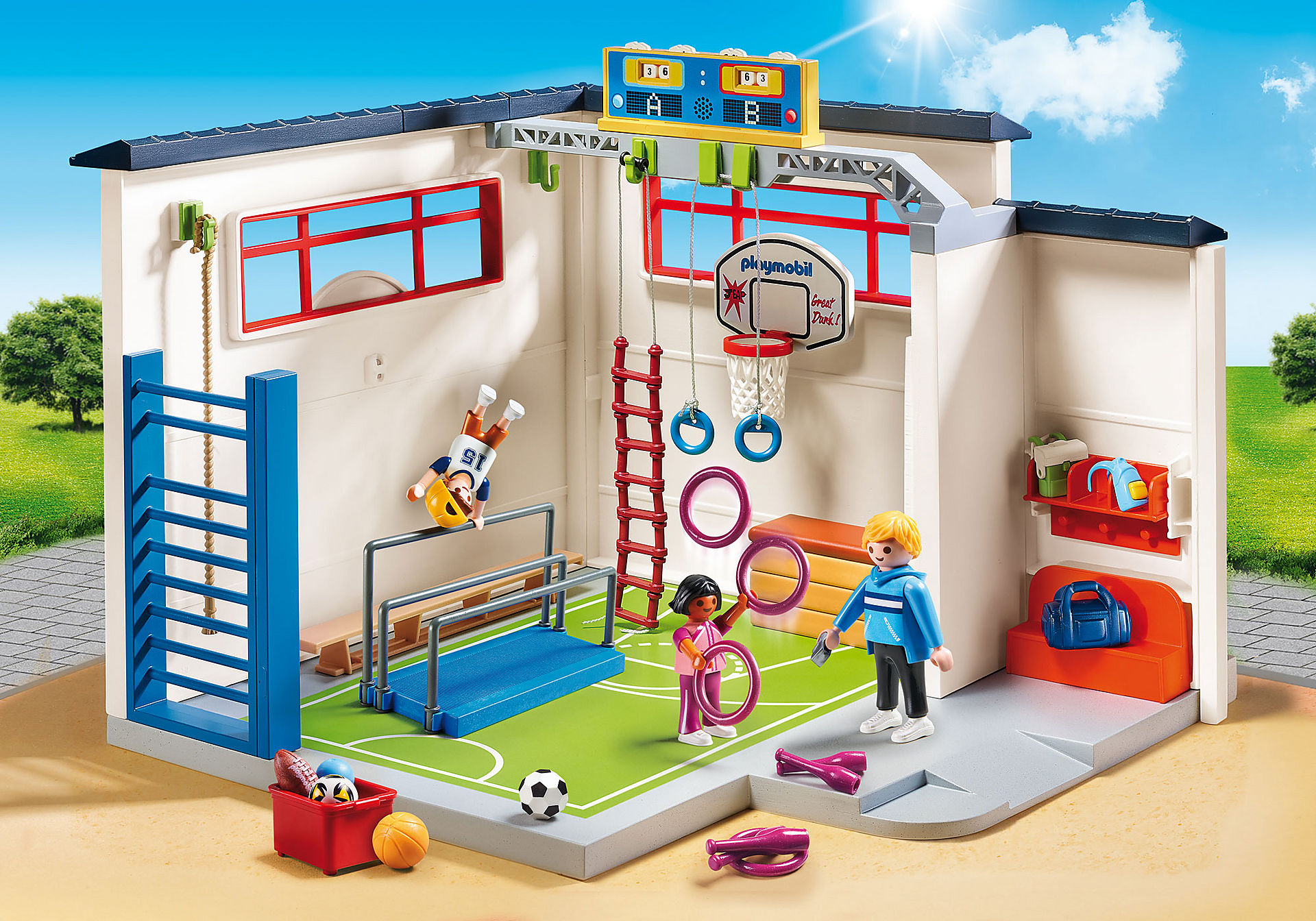 9454 Salle de sports  zoom image1