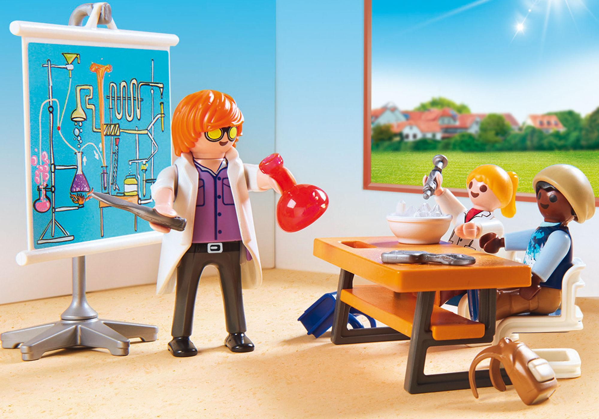 http://media.playmobil.com/i/playmobil/9456_product_extra2/Sala do lekcji chemii