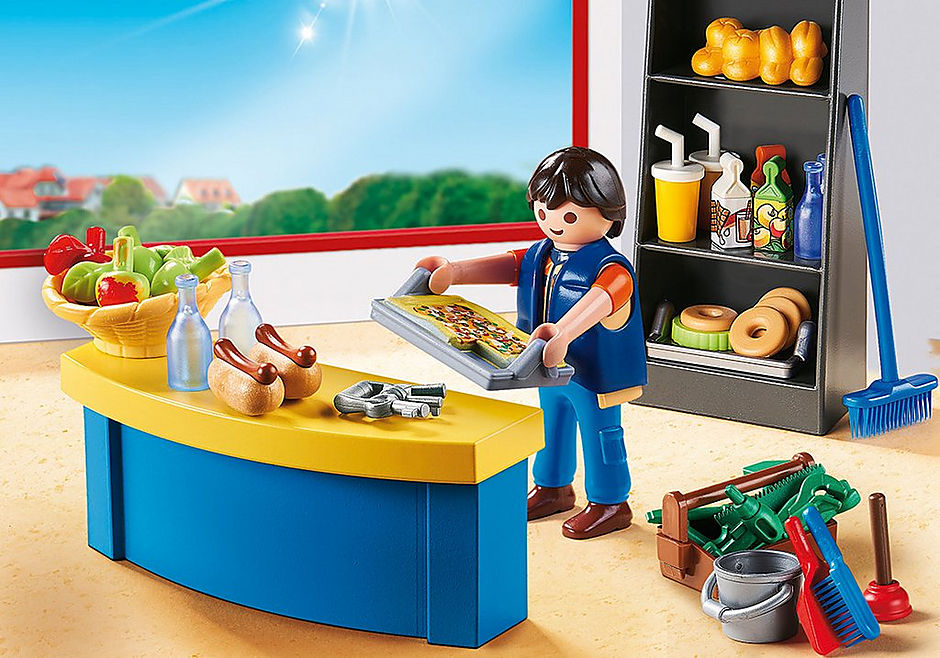 9457 Hausmeister mit Kiosk detail image 1