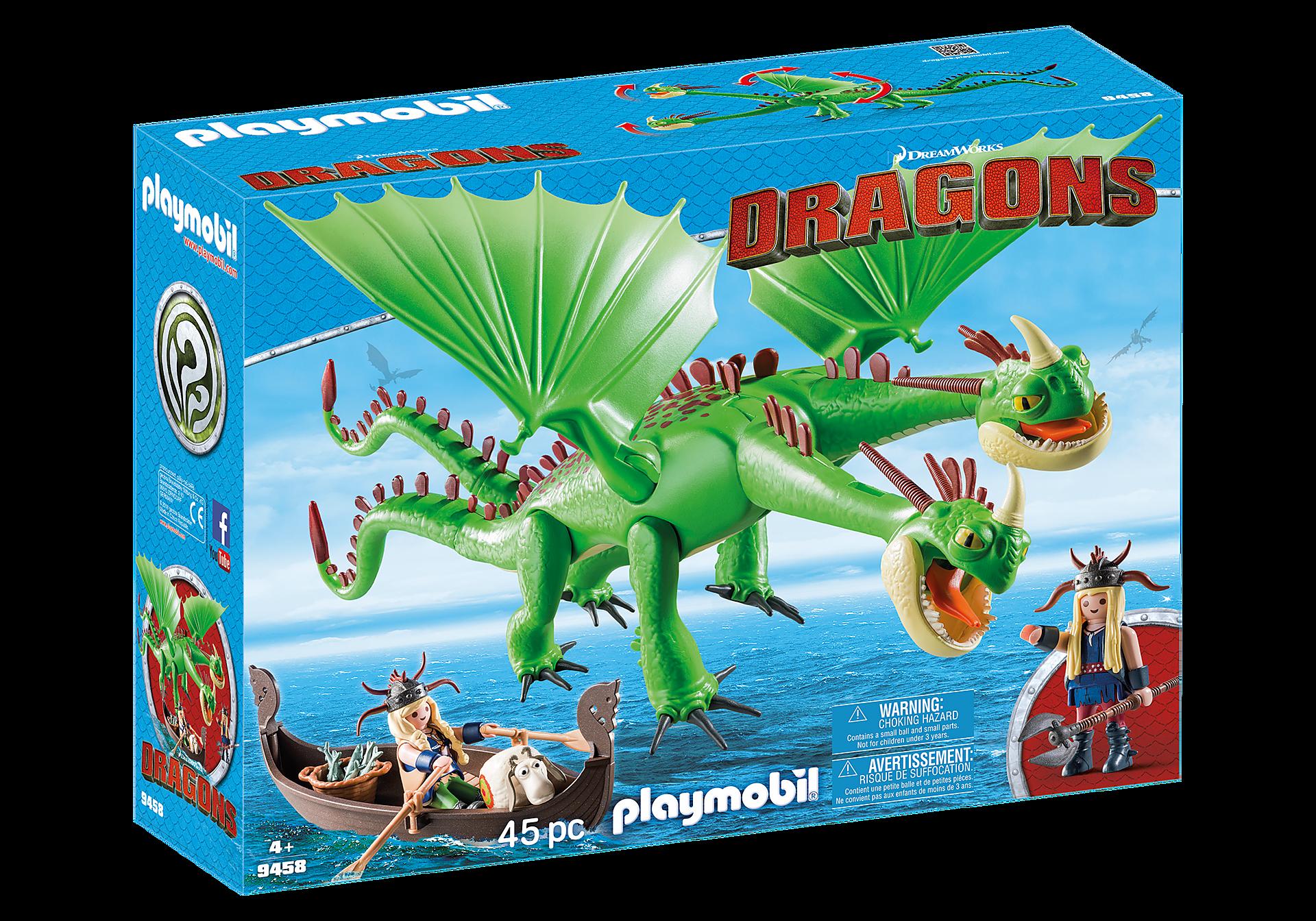 http://media.playmobil.com/i/playmobil/9458_product_box_front/Ο Πέτρας και η Πέτρα με τον δικέφαλο δράκο Ρέψιμο & Αναγούλα