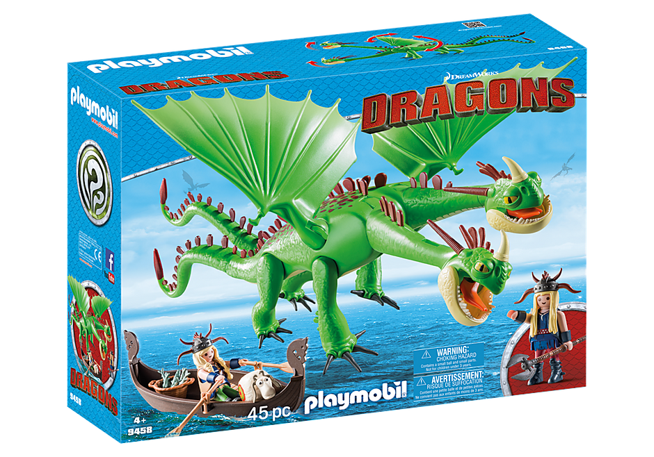 http://media.playmobil.com/i/playmobil/9458_product_box_front/Dragón 2 Cabezas con Chusco y Brusca