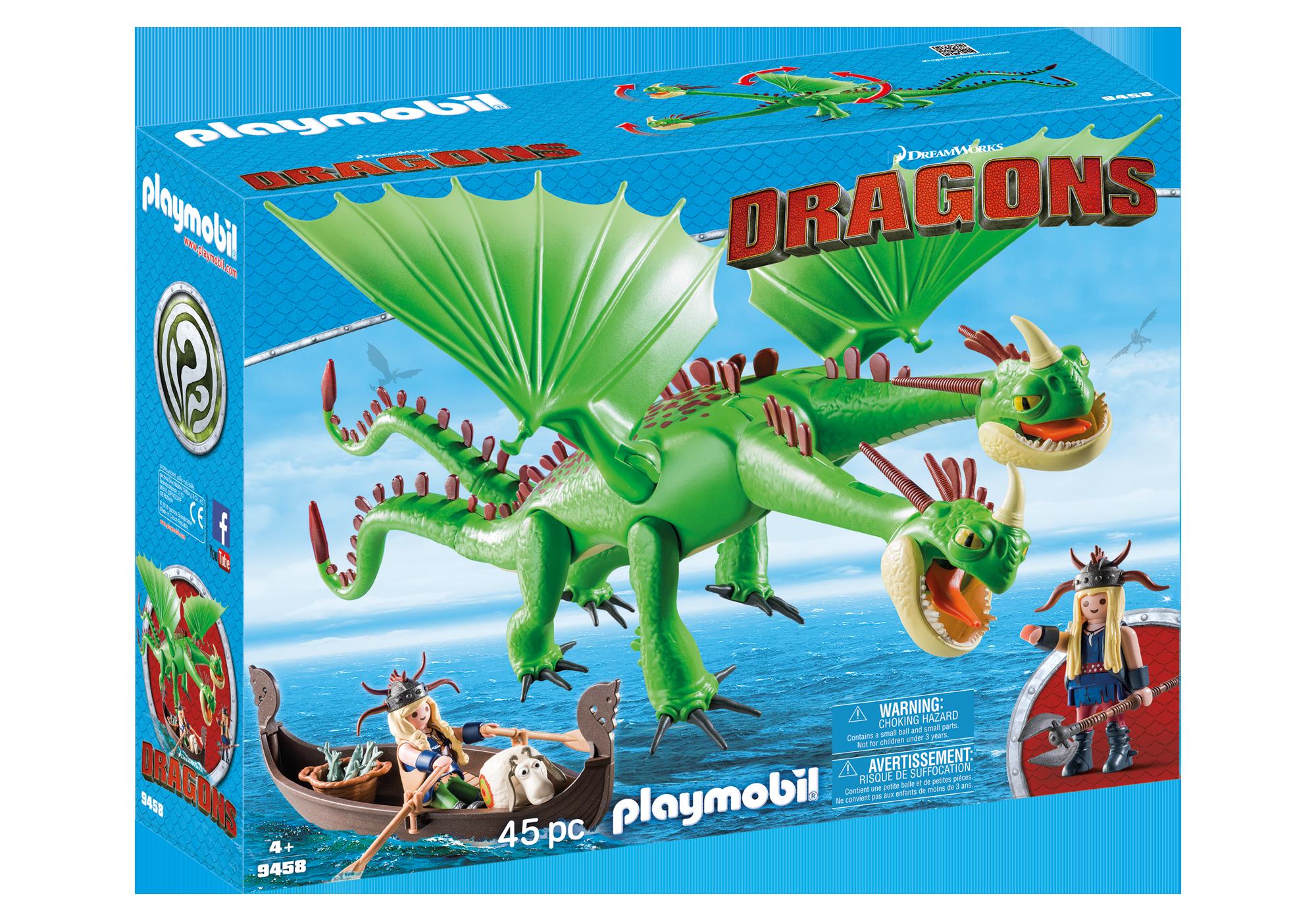 http://media.playmobil.com/i/playmobil/9458_product_box_front/Dragón 2 Cabezas con Chusco y Brusca