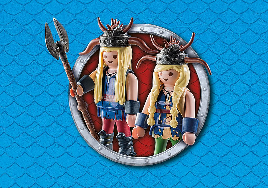 9458 Cabeçaquente e Cabeçadura com Dragão 2 Cabeças detail image 7