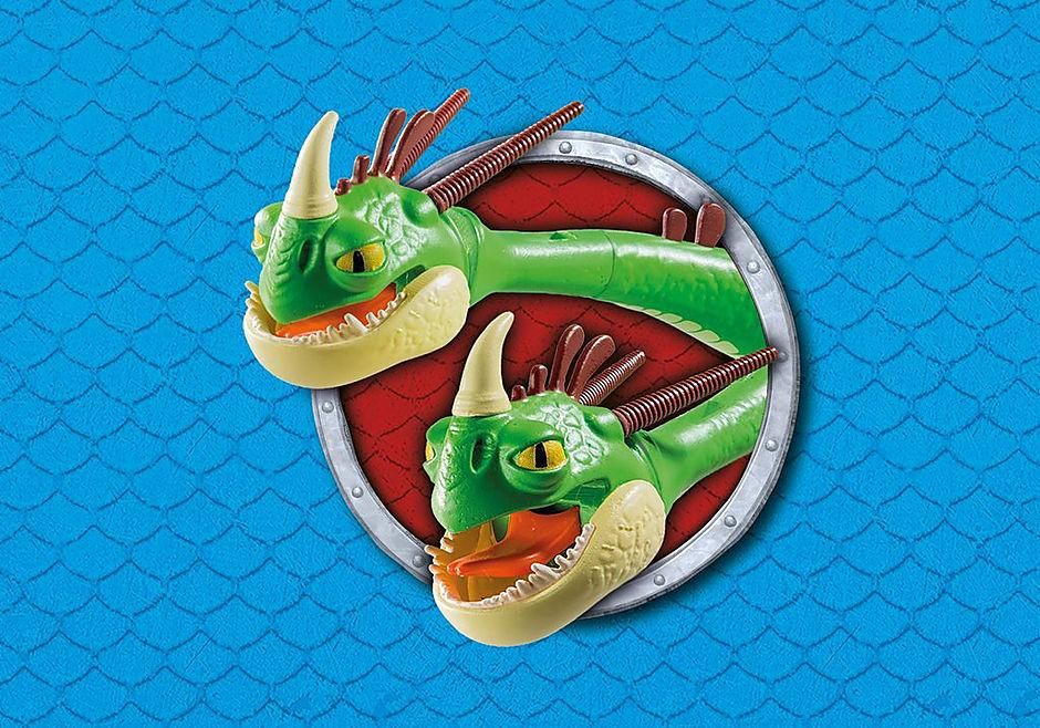 9458 Cabeçaquente e Cabeçadura com Dragão 2 Cabeças detail image 8