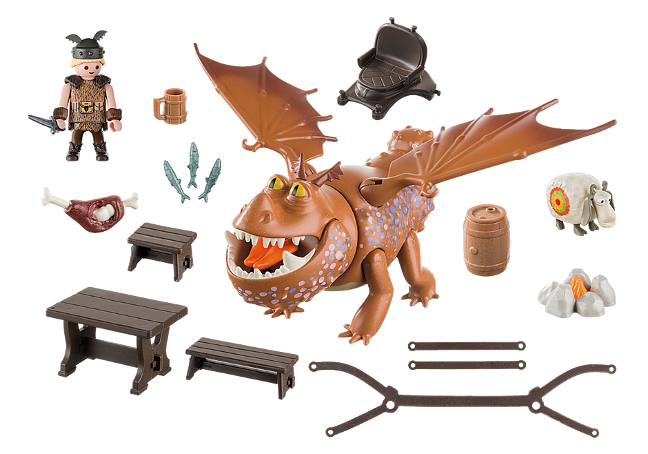 9460 Fishlegs and Meatlug detail image 4