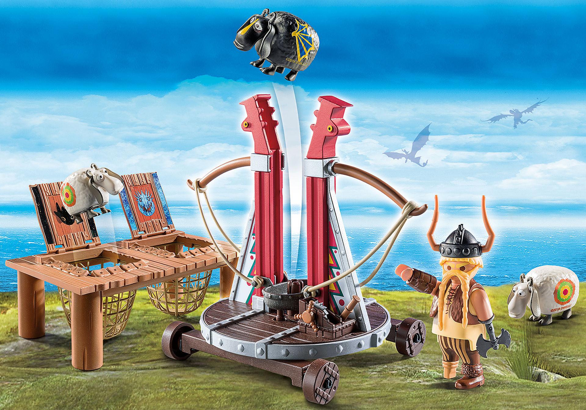 http://media.playmobil.com/i/playmobil/9461_product_detail/Bocarra com Catapulta para Ovelhas