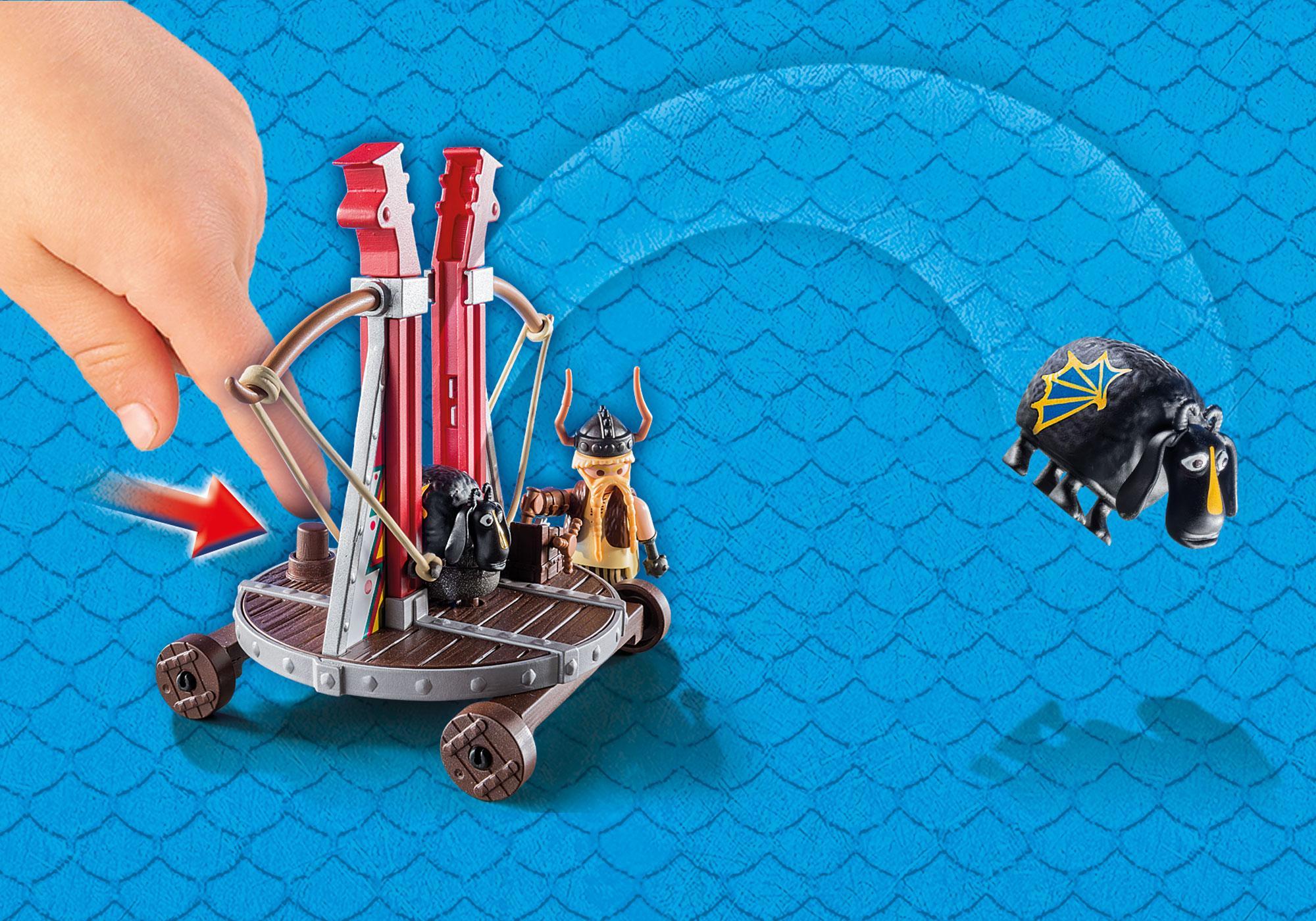 http://media.playmobil.com/i/playmobil/9461_product_extra1/Ο Σκόρδος με καταπέλτη προβάτων
