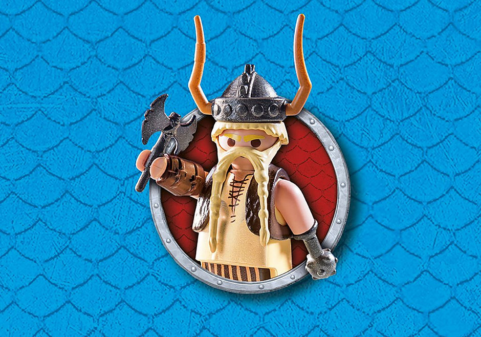 9461 Dragon Racing: Gueulfor avec baliste lance-mouton detail image 6