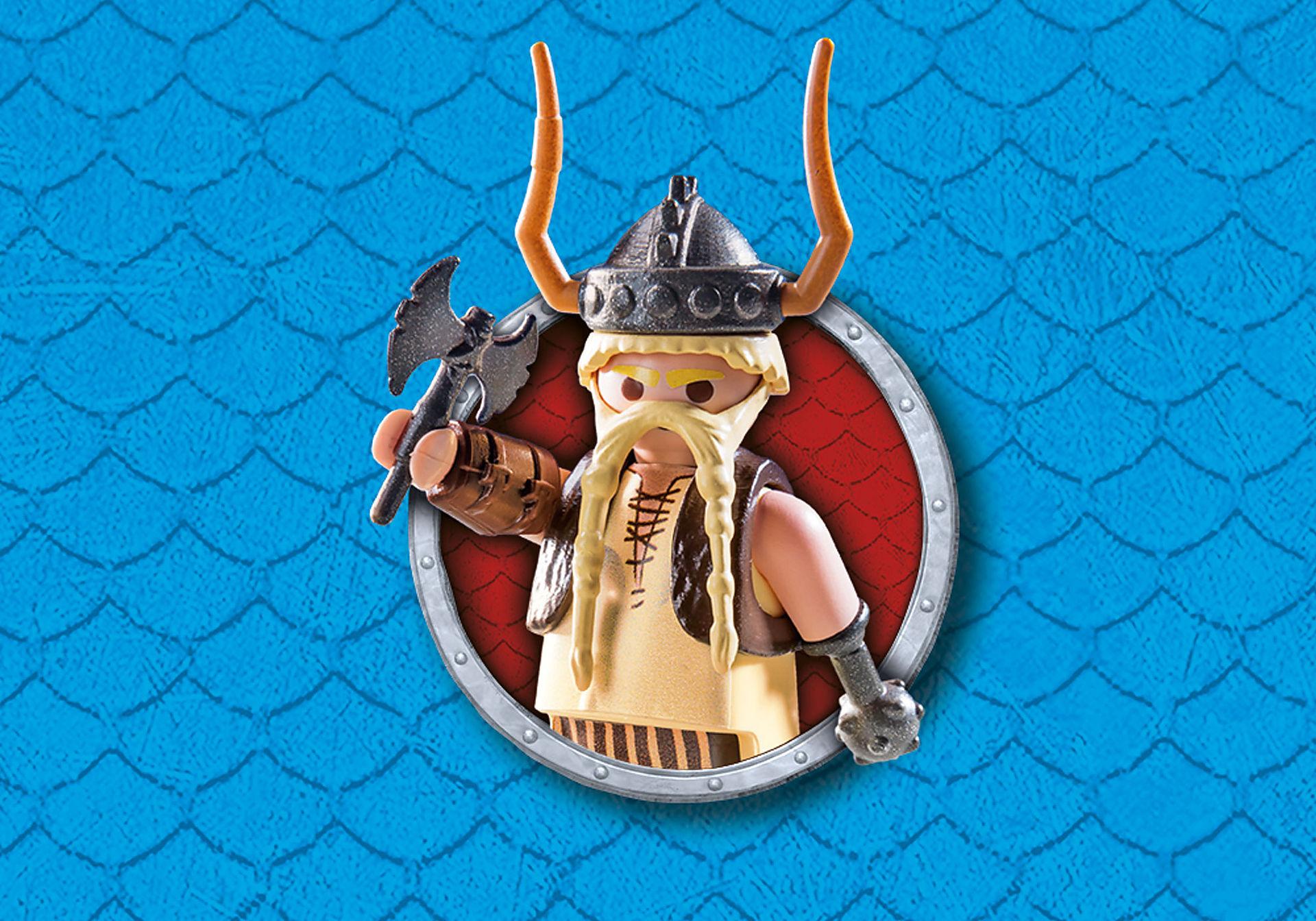 9461 Dragon Racing: Gueulfor avec baliste lance-mouton zoom image6