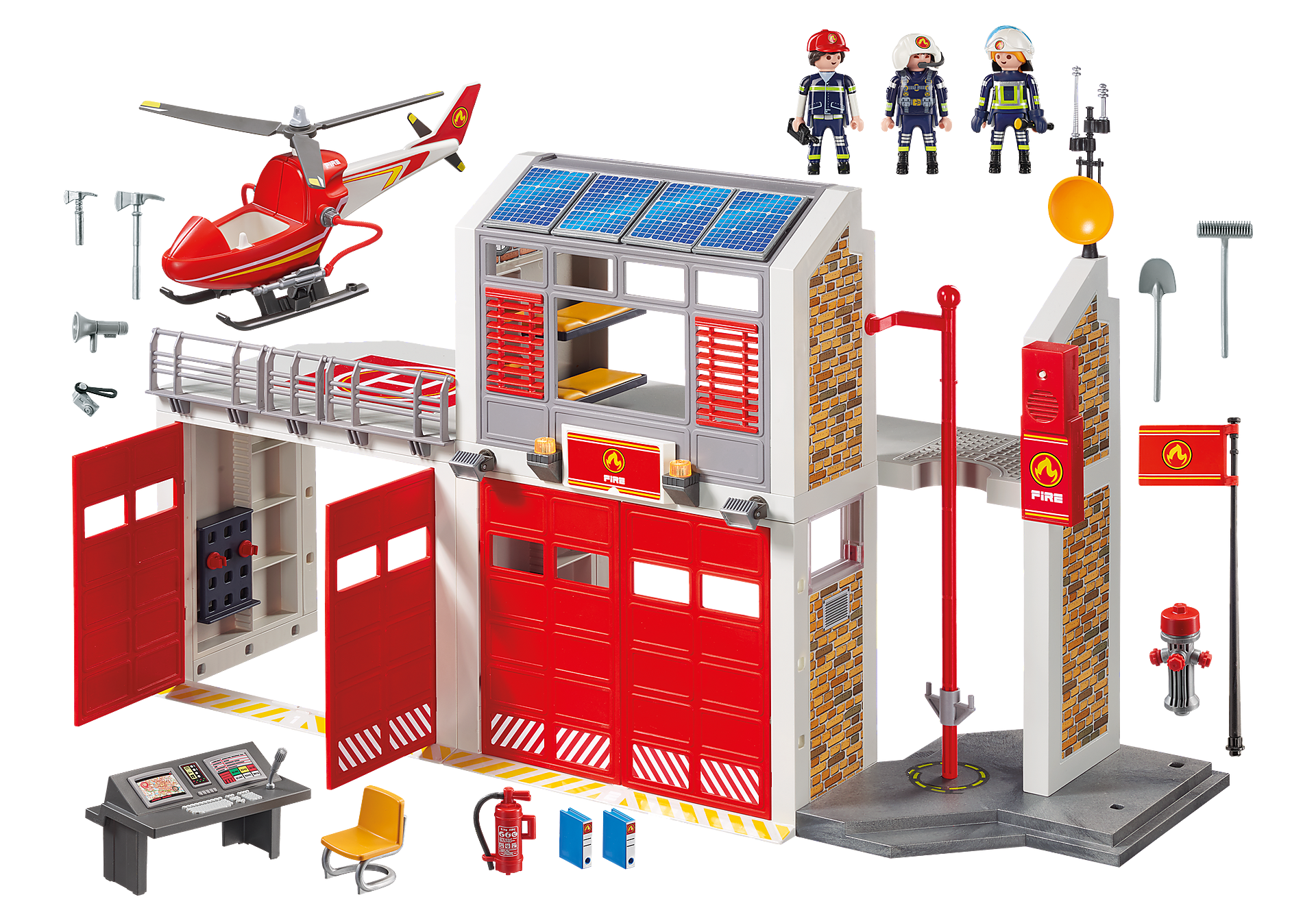 9462 Duża remiza strażacka zoom image4