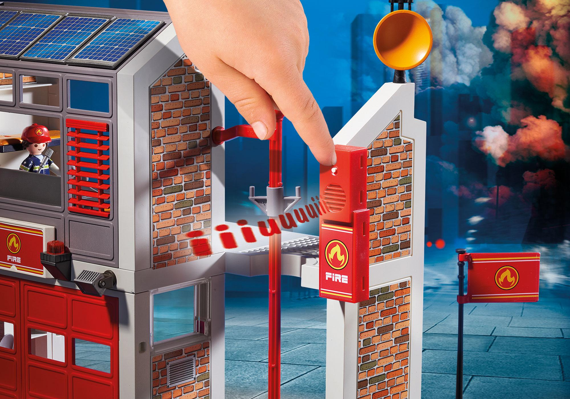 http://media.playmobil.com/i/playmobil/9462_product_extra4/Caserne de pompiers avec hélicoptère