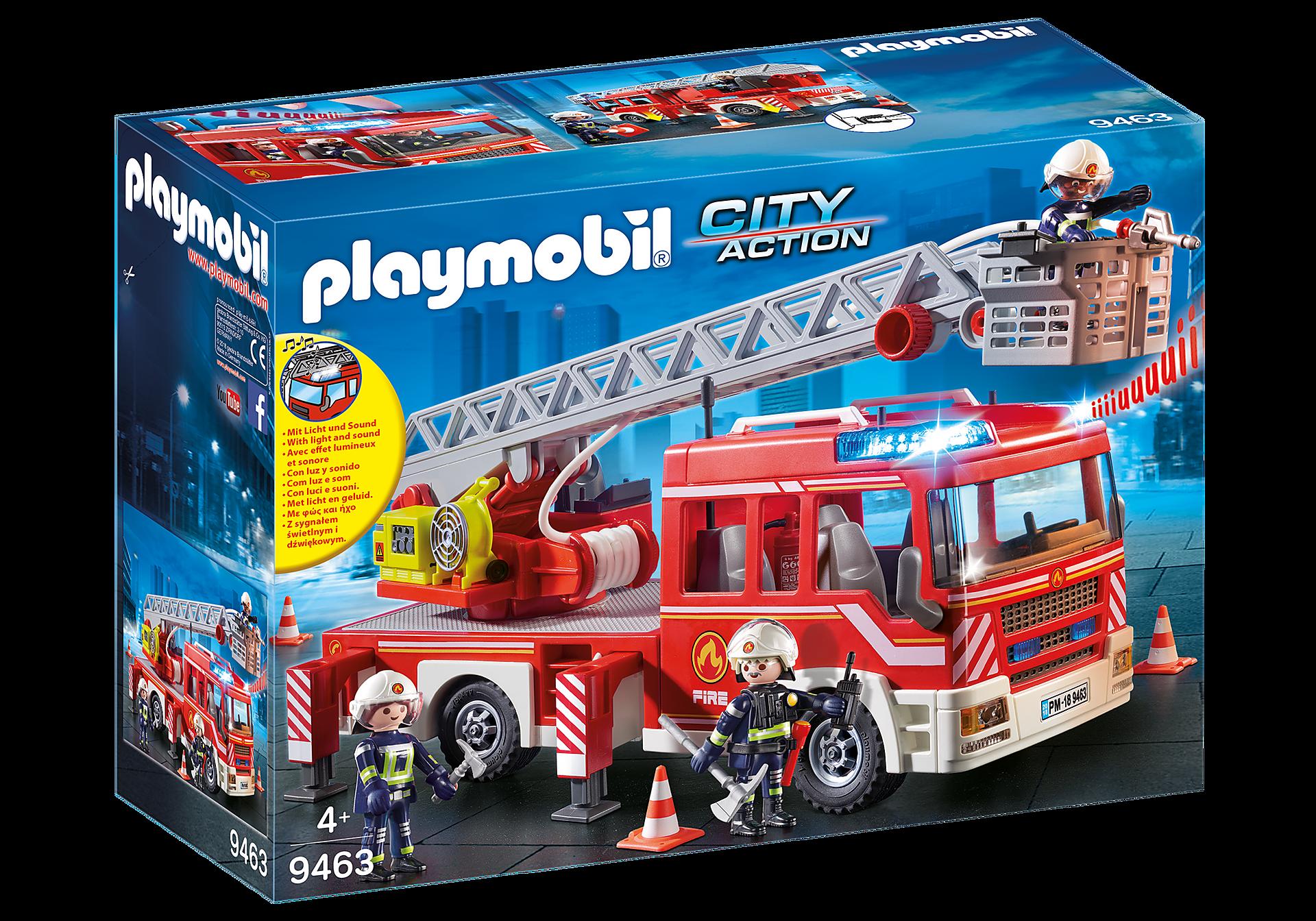9463 Όχημα Πυροσβεστικής με σκάλα και καλάθι διάσωσης zoom image3