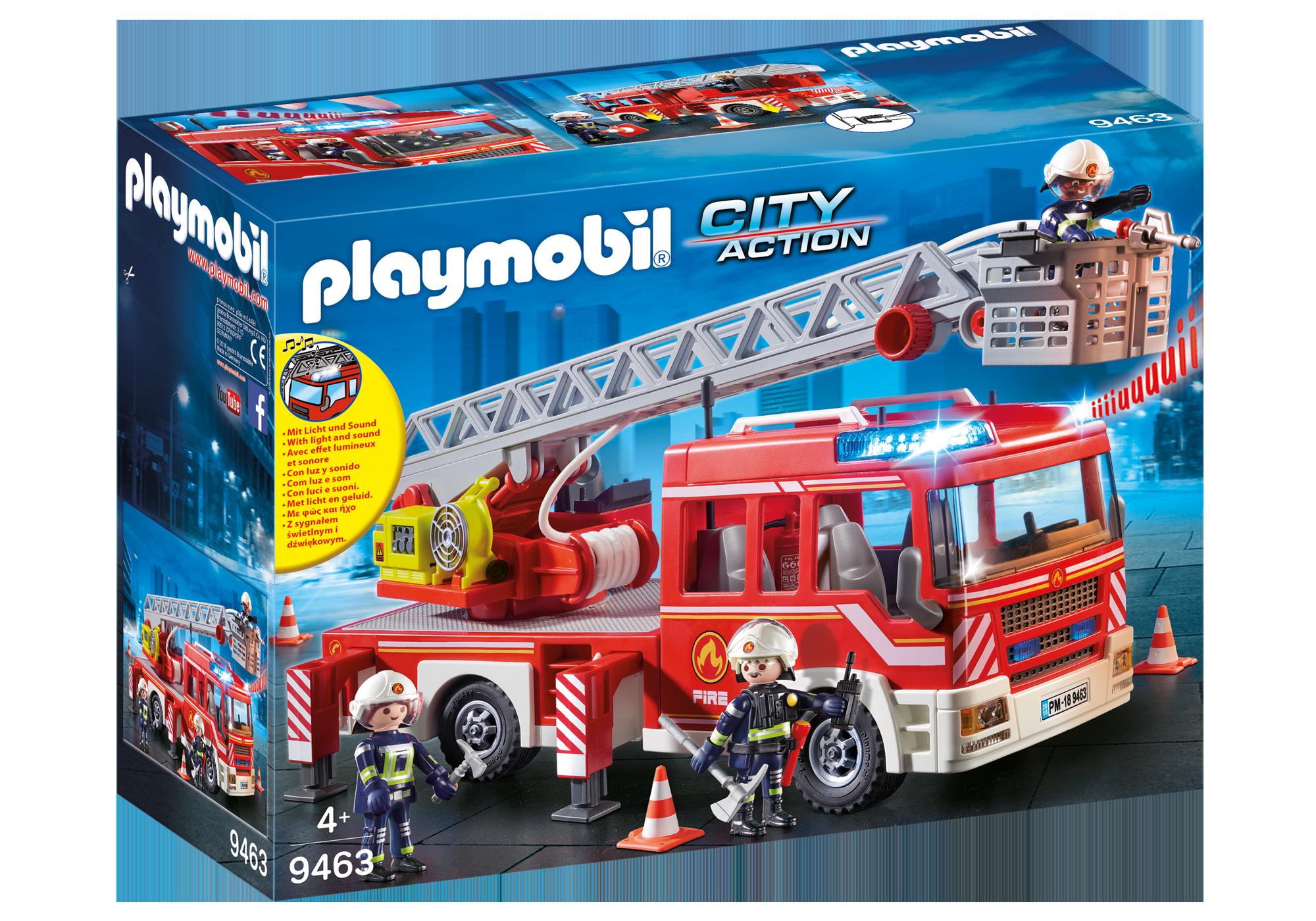 http://media.playmobil.com/i/playmobil/9463_product_box_front/Όχημα Πυροσβεστικής με σκάλα και καλάθι διάσωσης