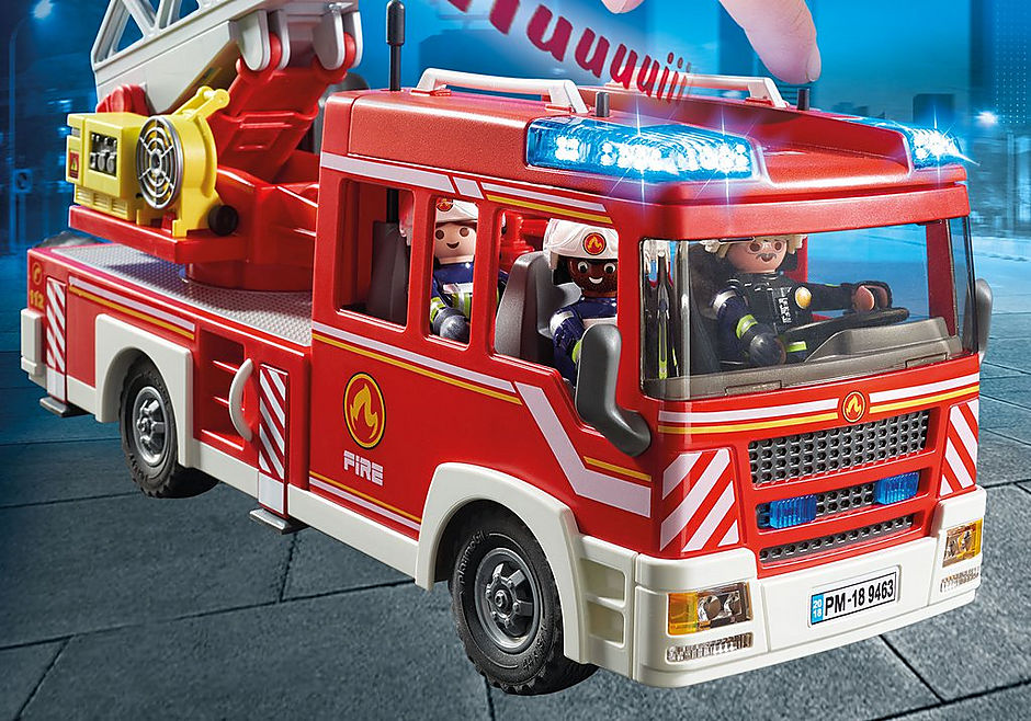 9463 Samochód strażacki z drabiną detail image 5