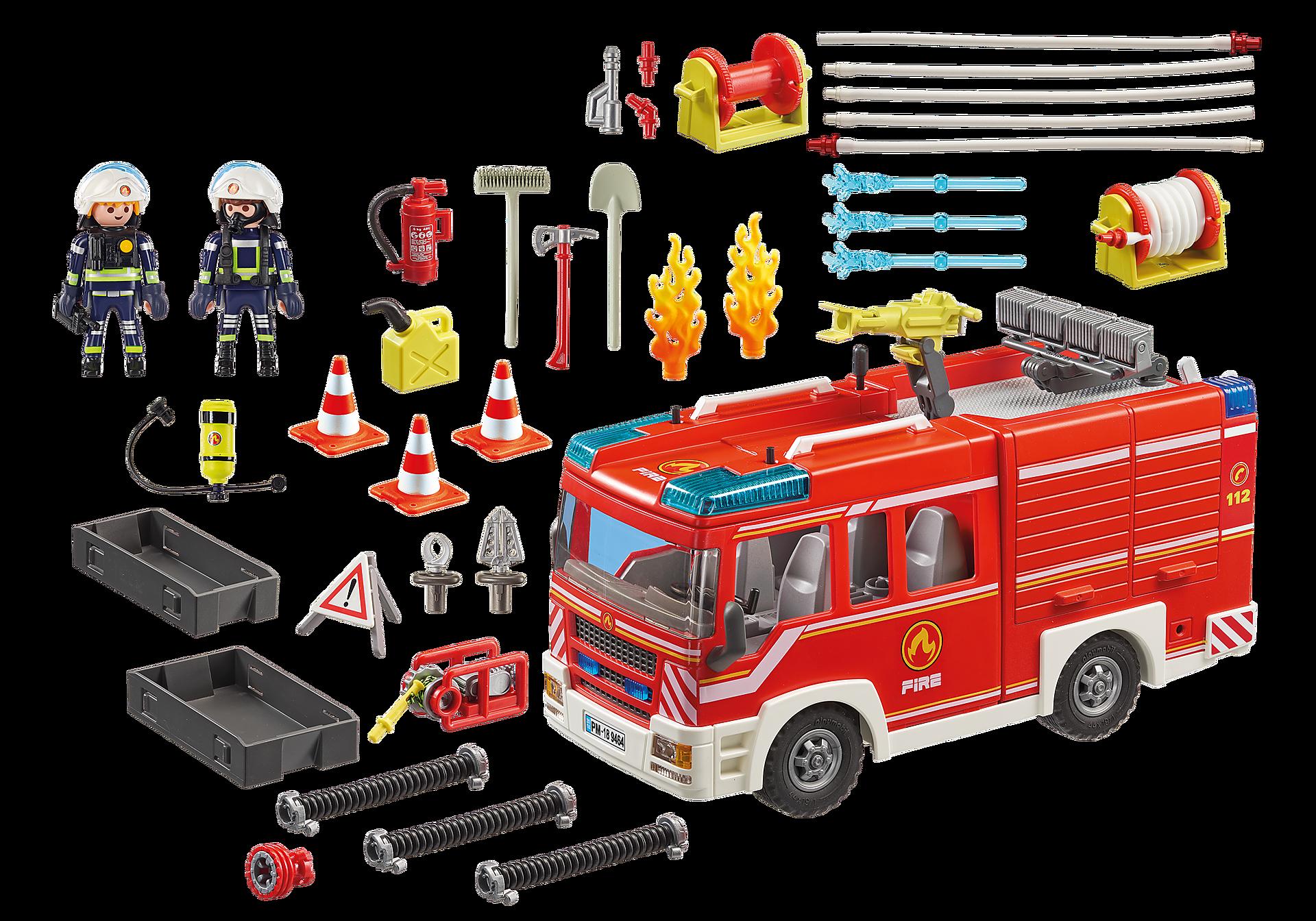 9464 Πυροσβεστικό όχημα zoom image4