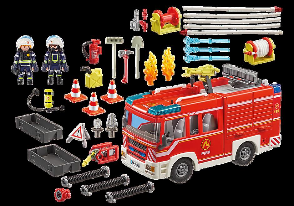 http://media.playmobil.com/i/playmobil/9464_product_box_back/Camión de Bomberos