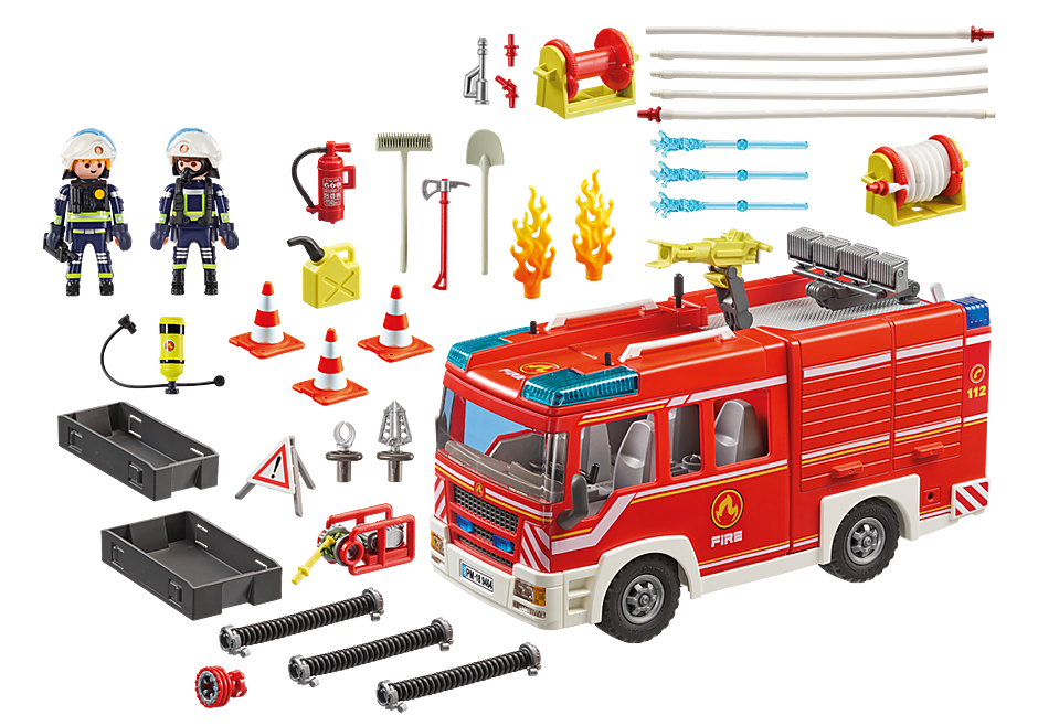 9464 Fourgon d'intervention des  pompiers  detail image 4