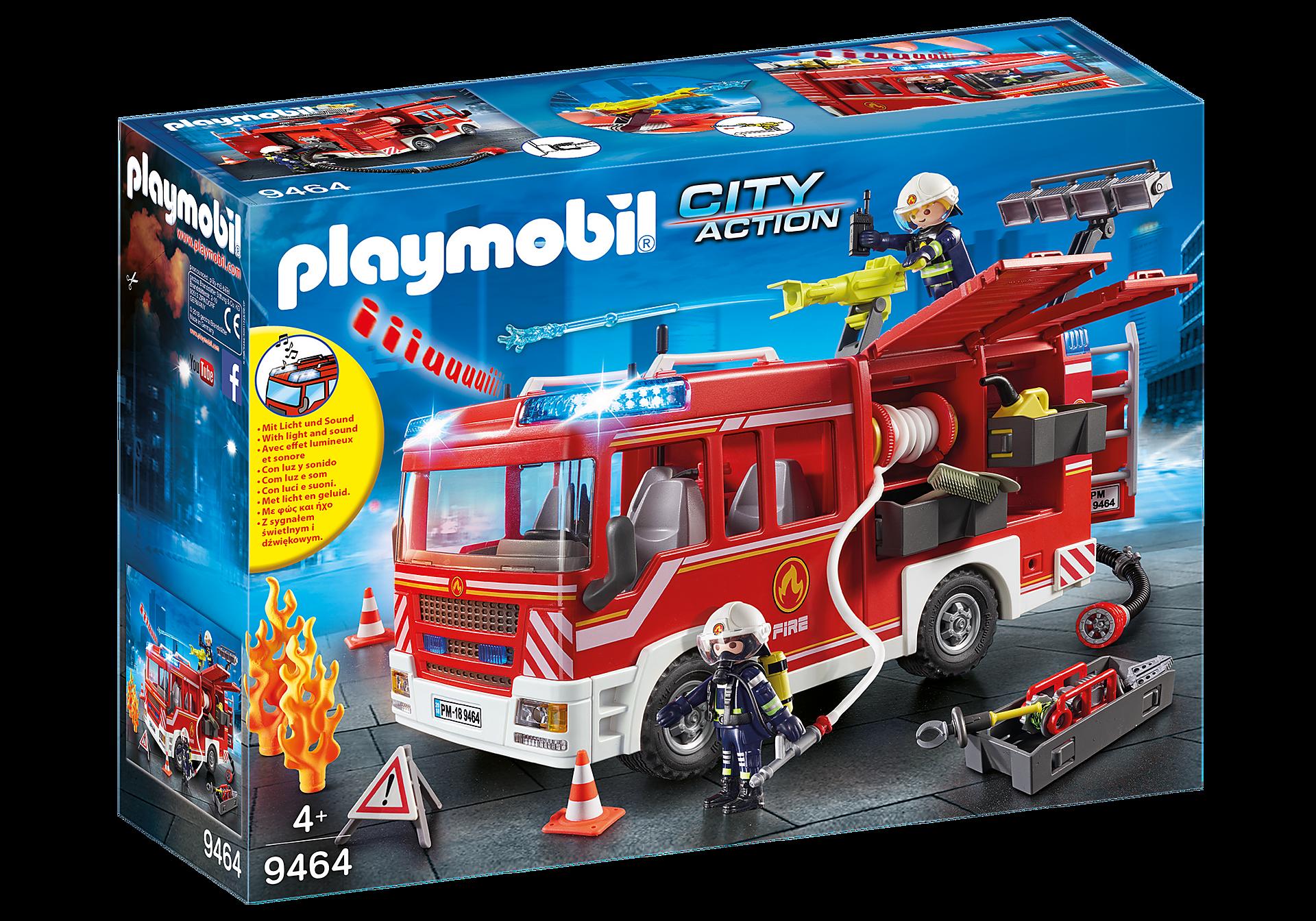 9464 Brandweer pompwagen zoom image3