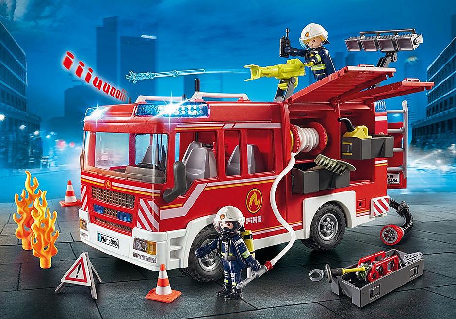 9464 Brandweer pompwagen detail image 1