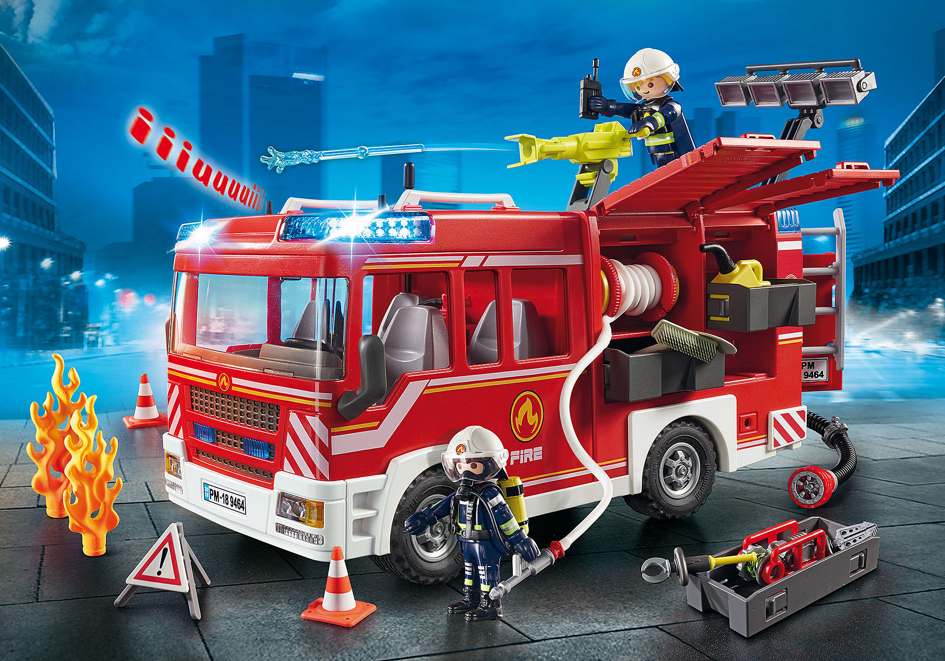 9464 Pojazd ratowniczy straży pożarnej zoom image1