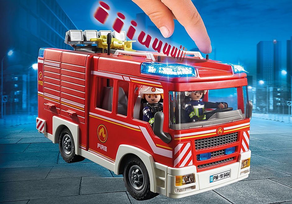 9464 Brandweer pompwagen detail image 5