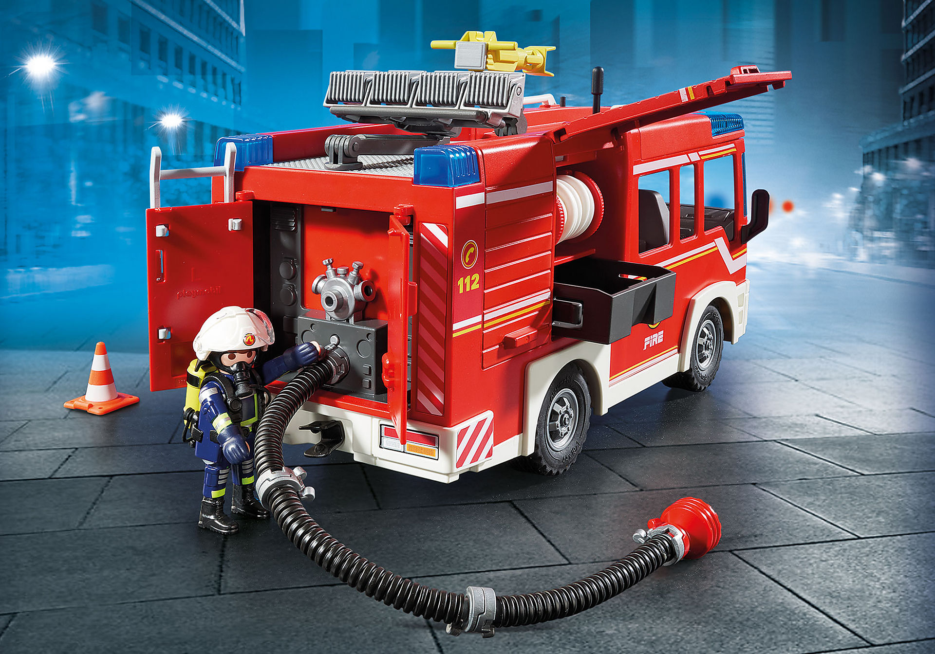 http://media.playmobil.com/i/playmobil/9464_product_extra3/Πυροσβεστικό όχημα