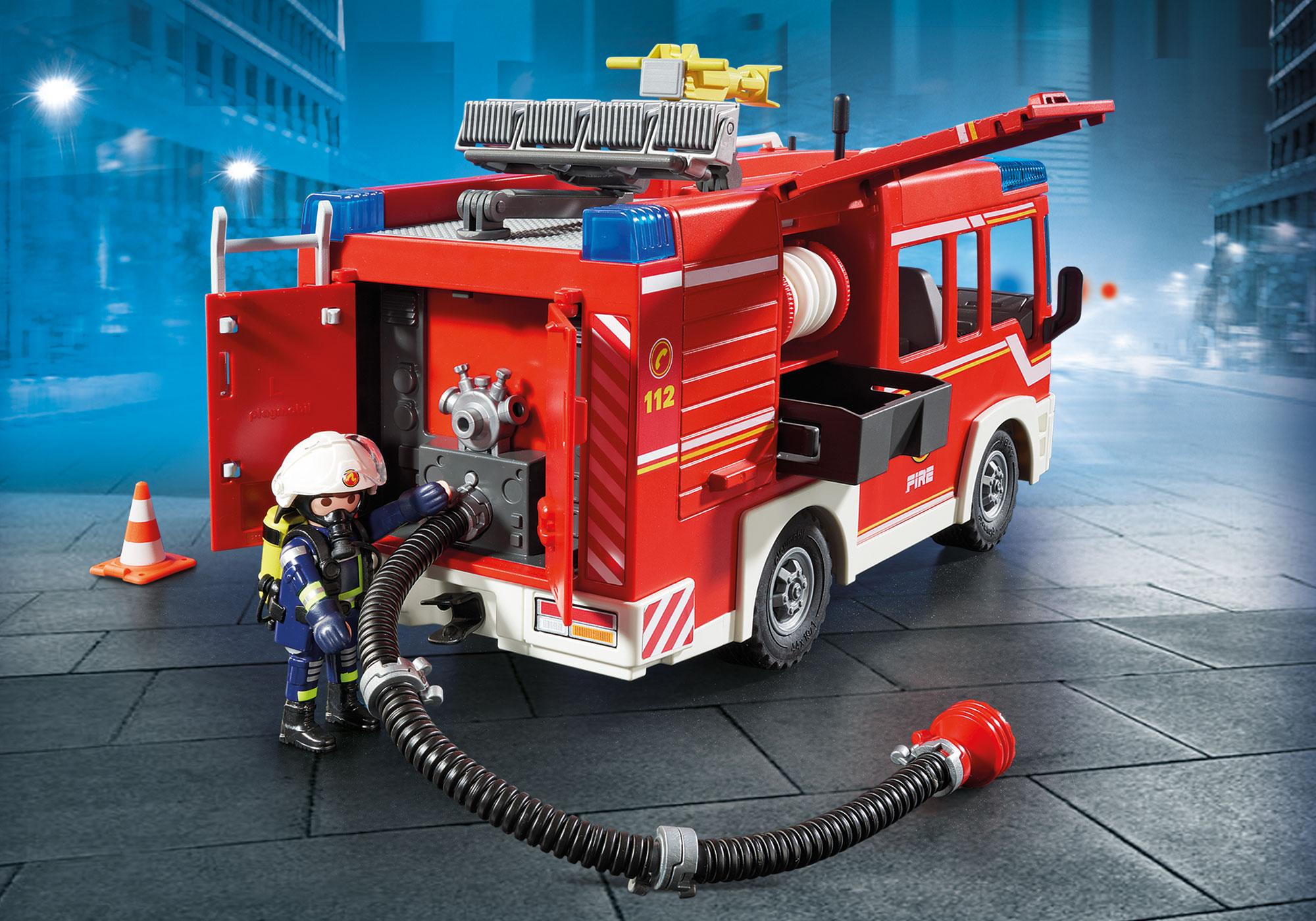 http://media.playmobil.com/i/playmobil/9464_product_extra3/Fourgon d'intervention des  pompiers