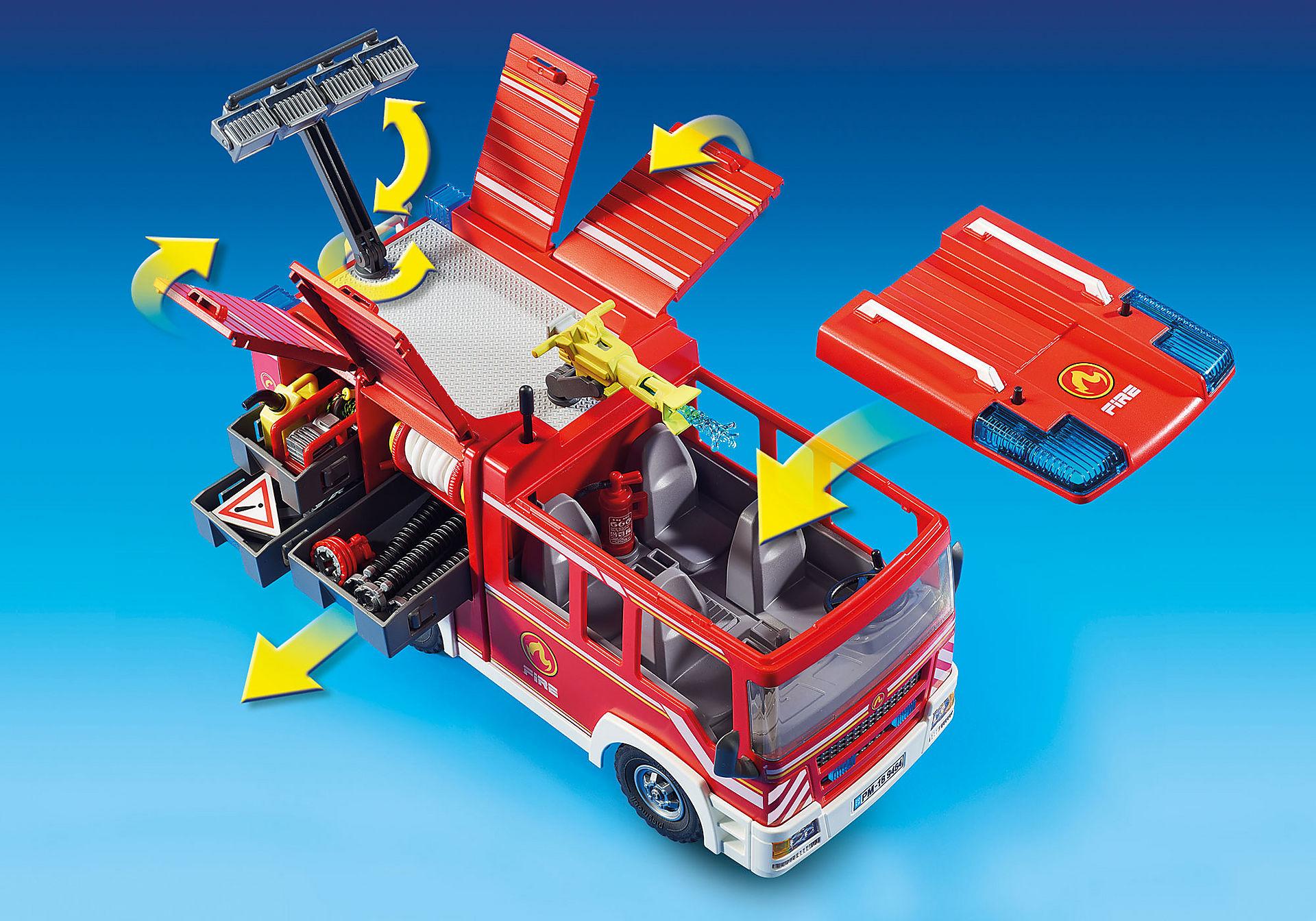 9464 Brandweer pompwagen zoom image8