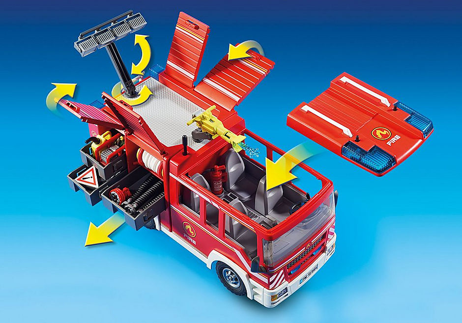 9464 Fourgon d'intervention des  pompiers  detail image 8