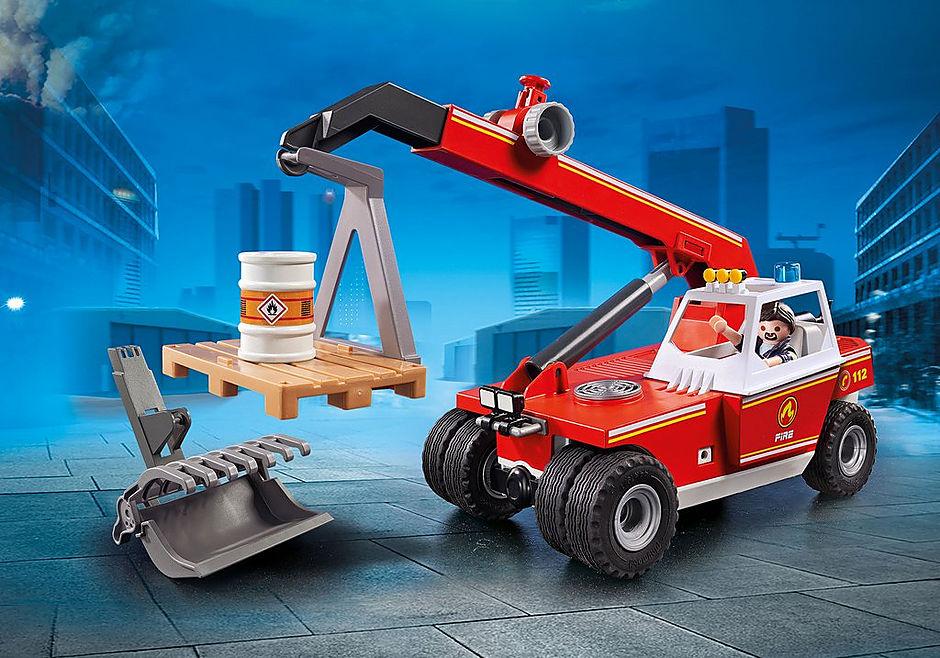 9465 Brandweer hoogtewerker detail image 1