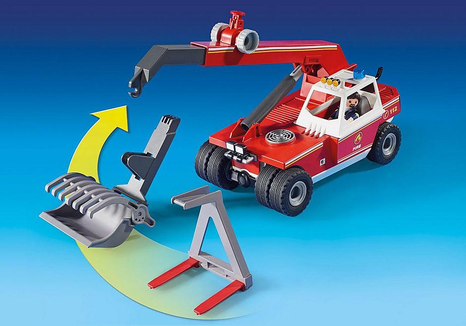 9465 Brandweer hoogtewerker detail image 5