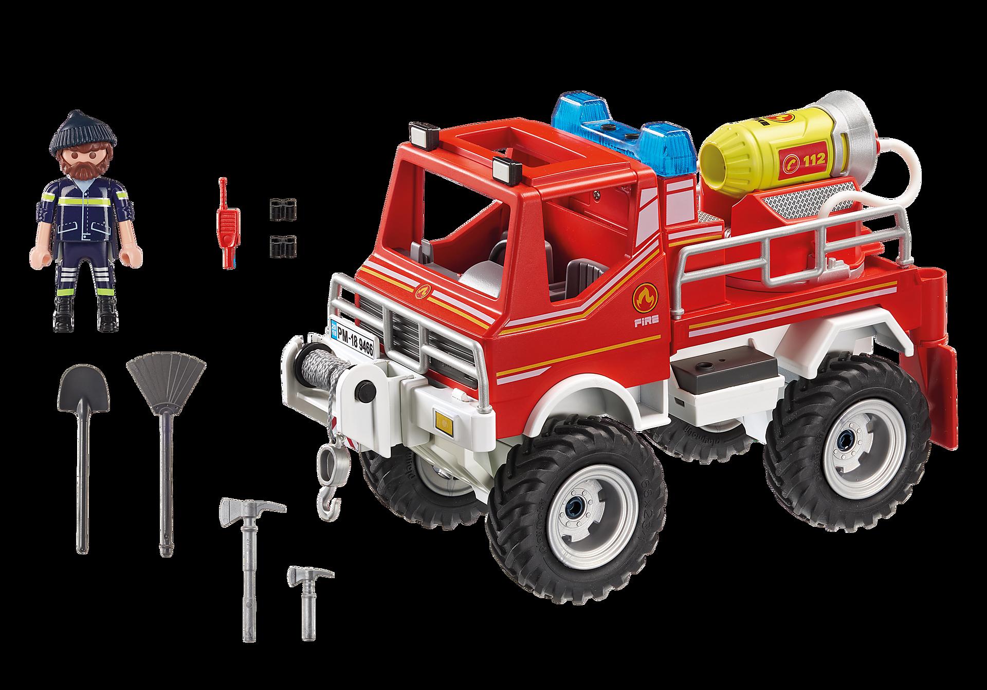 9466 Brandweer terreinwagen met waterkanon zoom image4