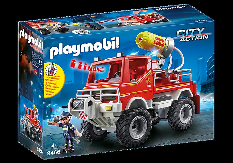 9466 Brandweer terreinwagen met waterkanon detail image 3