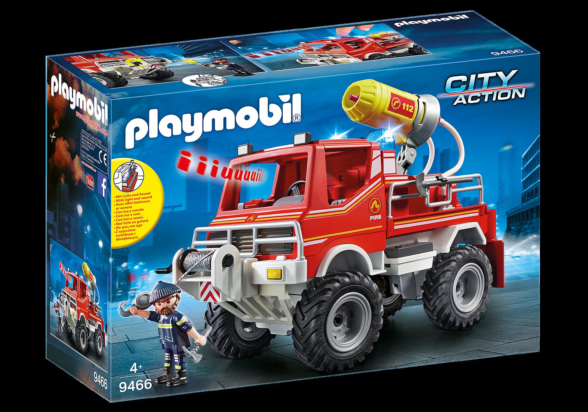 9466 Brandweer terreinwagen met waterkanon zoom image3