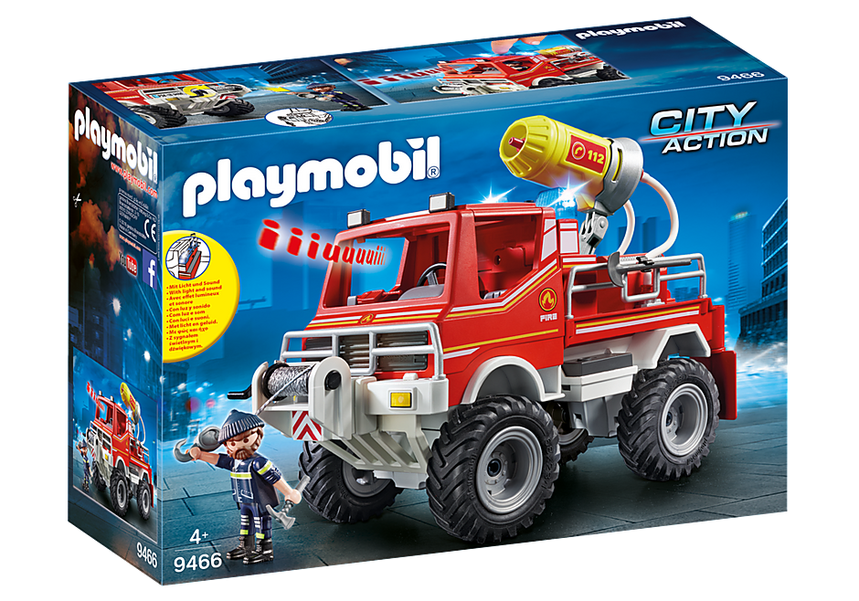 9466 Tűzoltó Unimog detail image 3