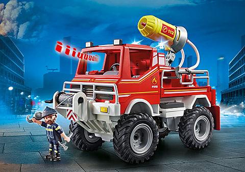 9466_product_detail/Brandweer terreinwagen met waterkanon