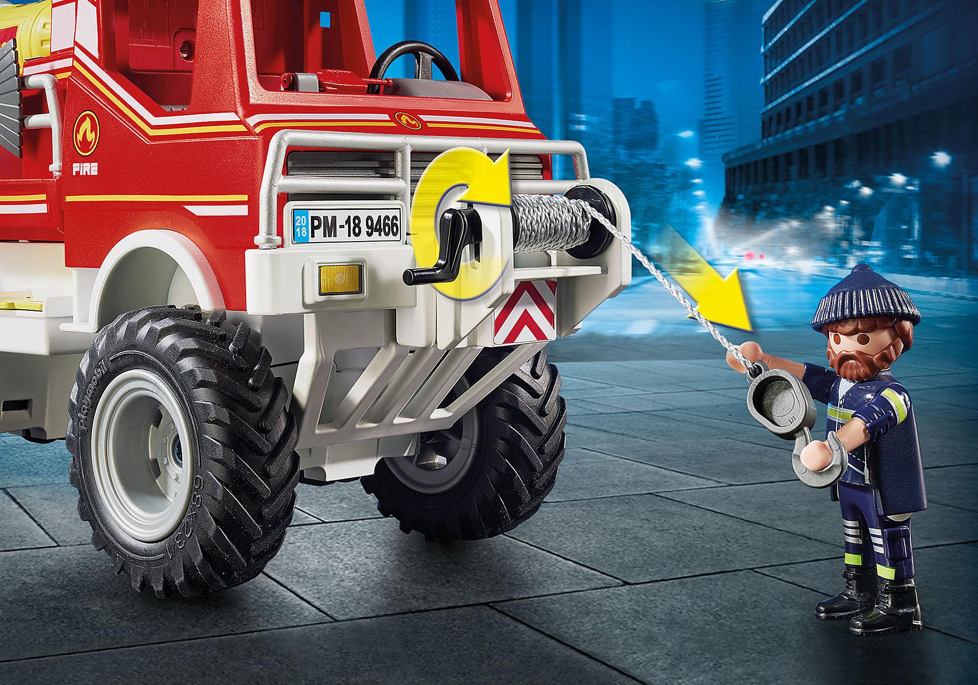 9466 Brandweer terreinwagen met waterkanon zoom image5