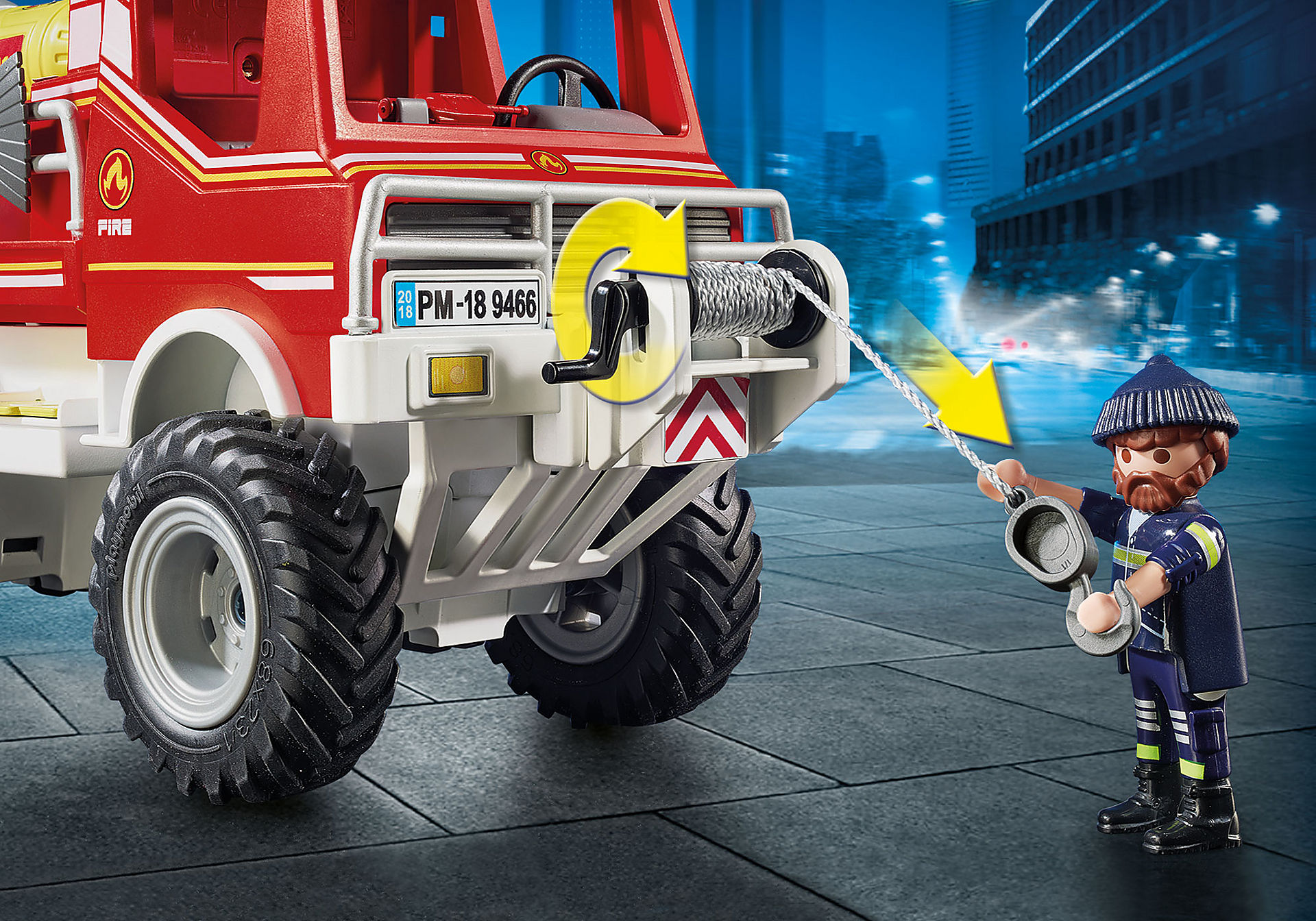 9466 Tűzoltó Unimog zoom image5