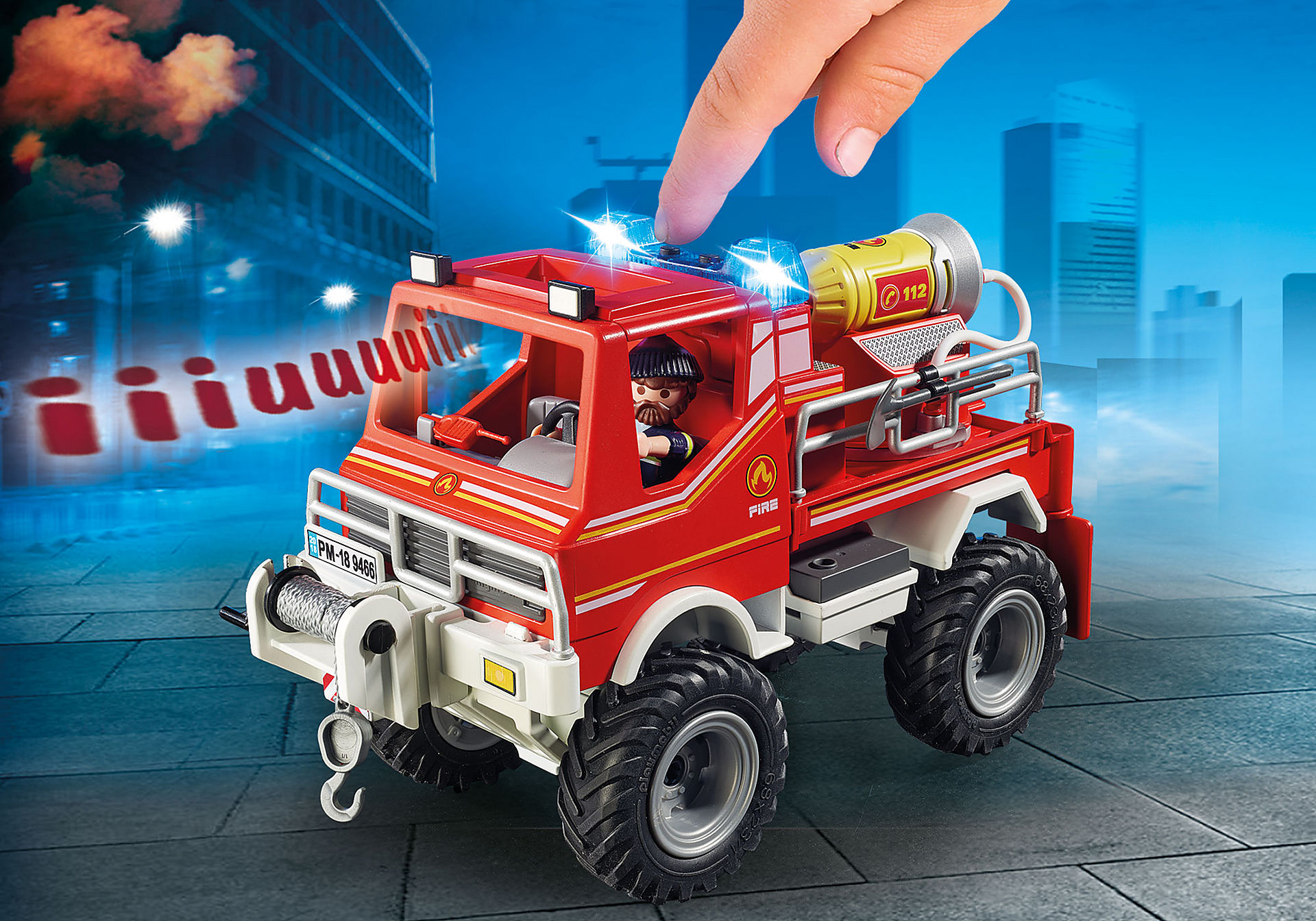 9466 Camion spara acqua dei Vigili del Fuoco  zoom image6
