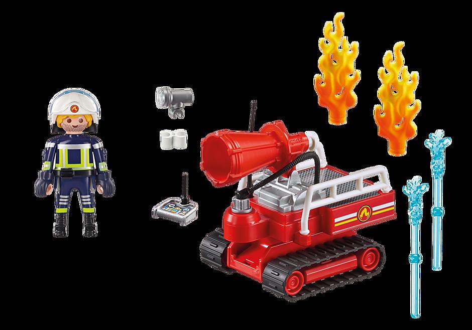 9467 Brandslukningsrobot med vand detail image 4