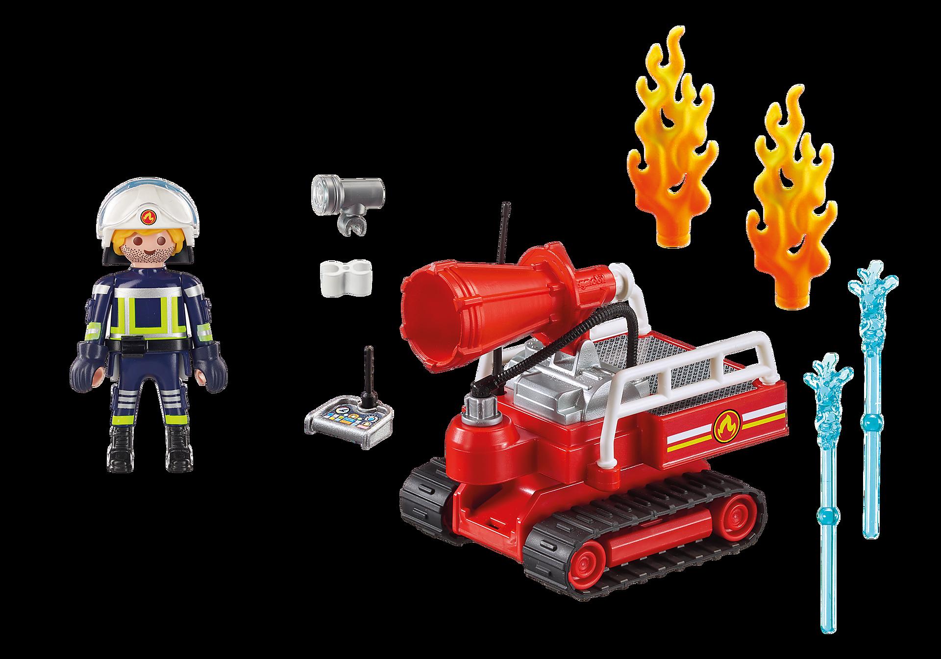 9467 Brandslukningsrobot med vand zoom image4