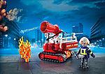 Feuerwehr-Löschroboter