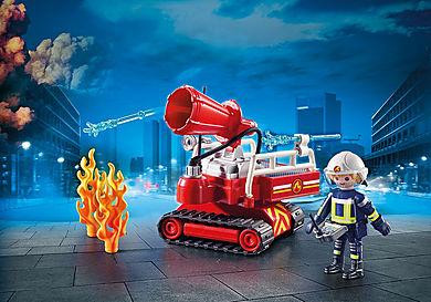 9467 Pompier avec robot d'intervention