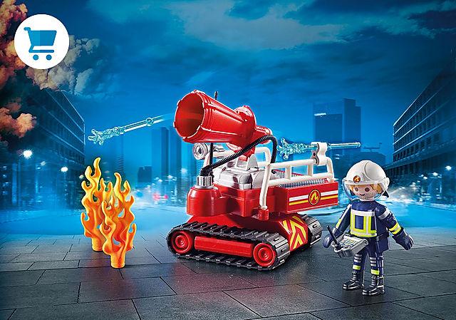 9467_product_detail/Pompier avec robot d'intervention