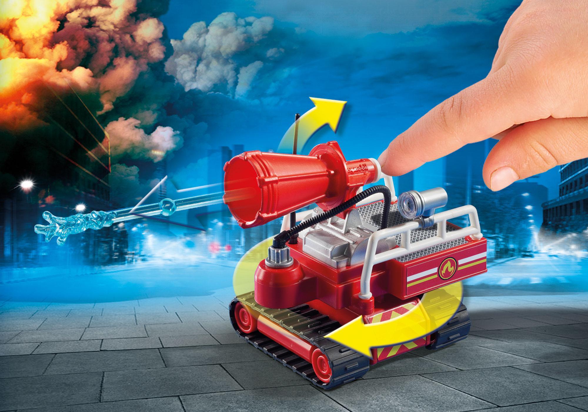 http://media.playmobil.com/i/playmobil/9467_product_extra1/Pompier avec robot d'intervention