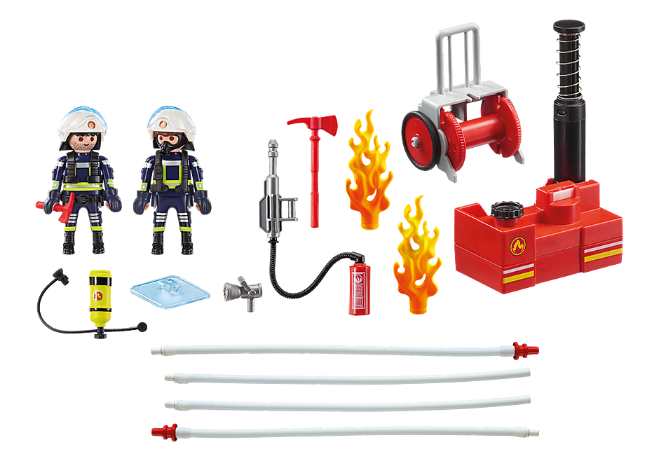 9468 Firefighters with Water Pump detail image 4